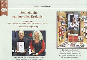 Dombrowsky ist Buchhandlung des Jahres 2014/15